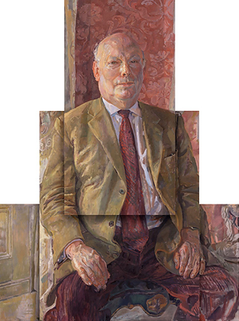 The Lord Fellowes of Stafford (Julian Fellowes), Oil on raised panels