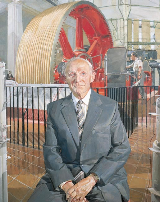 Sir Austin Pearce, 1990 - 127 x 101.6 cms