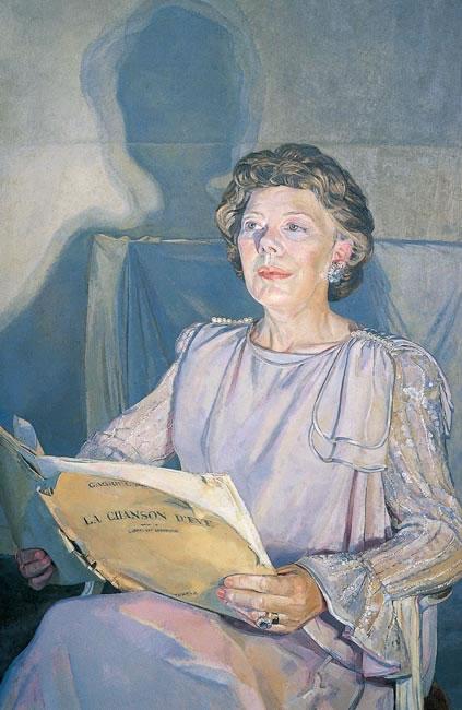 Dame Janet Baker DBE - 91.4 x 61 cms