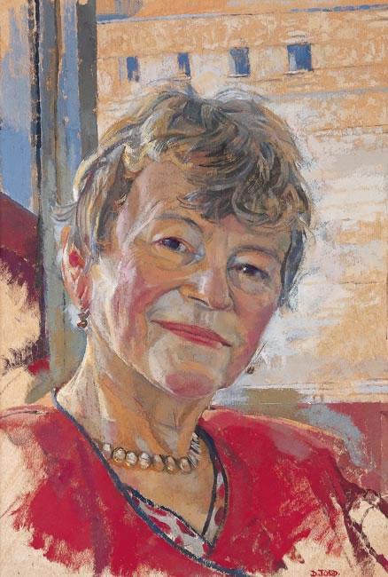Head Study, Dame Anne Mueller, 2000 - 45.7 x 30.5 cms