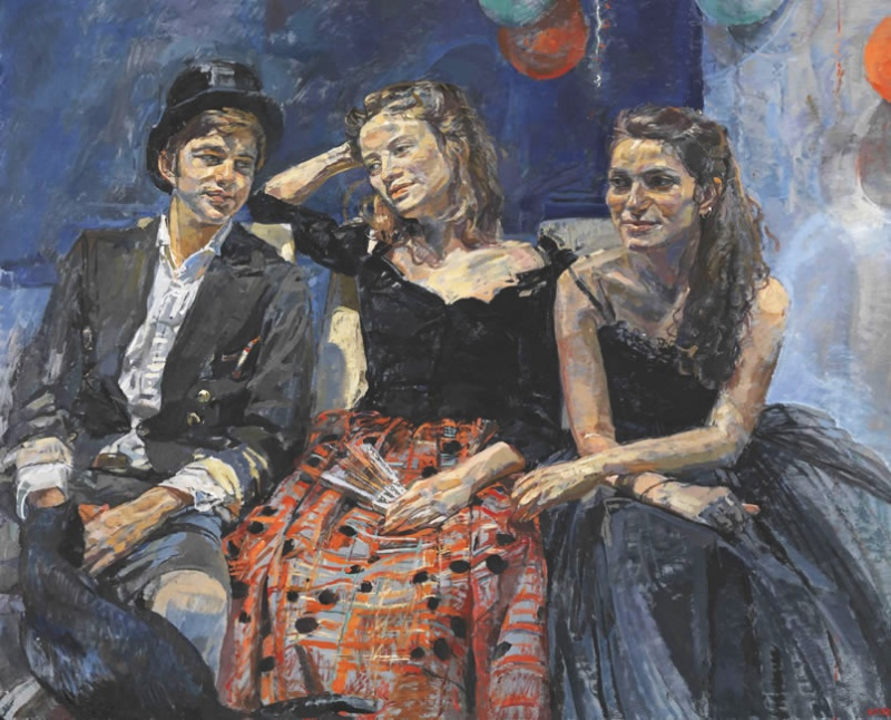 Sophie, Beatrice & Max Walker, 2011