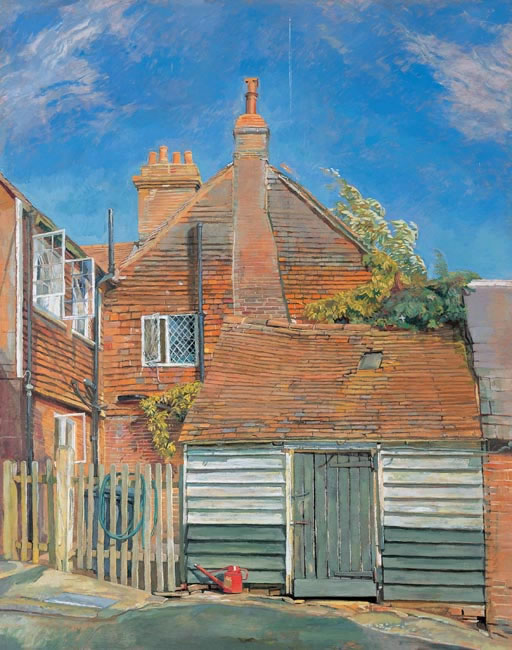 House in the Heat, 2003 (83.8 x 66 cms - 33 x 26 ins) - Sold